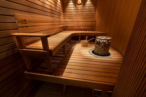 Sauna Hotel Arthurissa / Sauna at Hotel Arthur