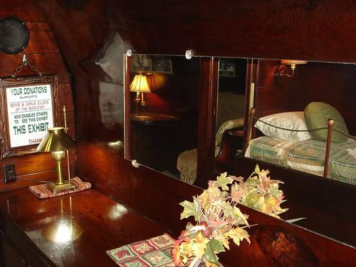 Redwood house bedroom