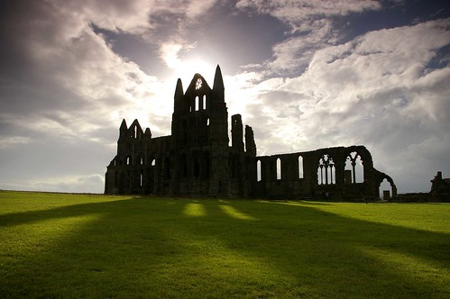 Whitby Abbey shadows - explored at #18 | by Sue Langford