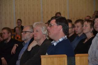 Brassbandfestivalen 2012 - Domarna i Minibrassdivisionen: Patrik Randefalk och Jan van der Roost