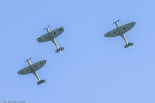 Supermarine Spitfire LF Mk Vb, Supermarine Spitfire Mk IXc, Supermarine Spitfire Mk IXT | by alan-evans