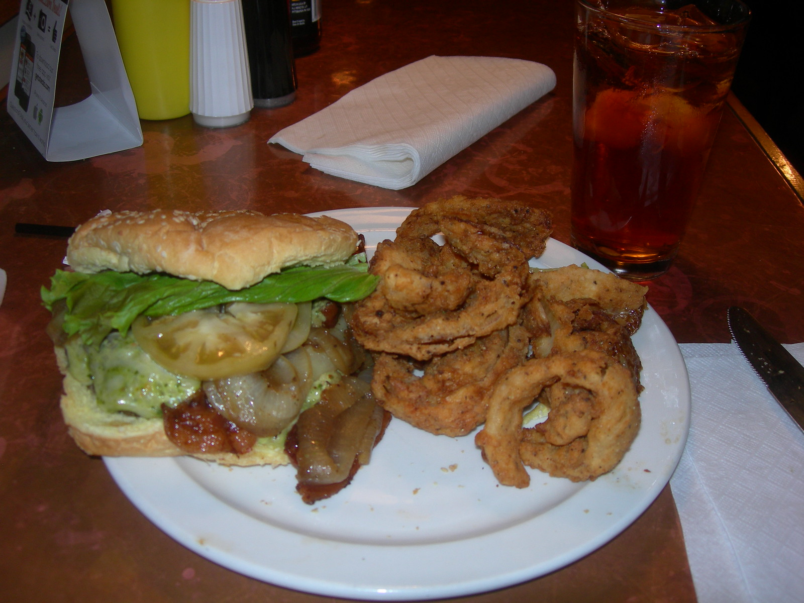 Caw Caw Creek Burger