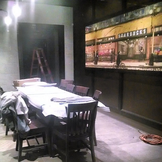 Best Private Dining Rooms In Nyc: Starbucks Private Dining Room Broad Street, NYC Under Cons