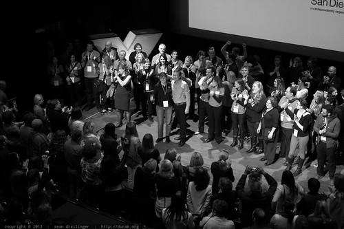 Closing - TEDxSanDiego 2013   by sean dreilinger