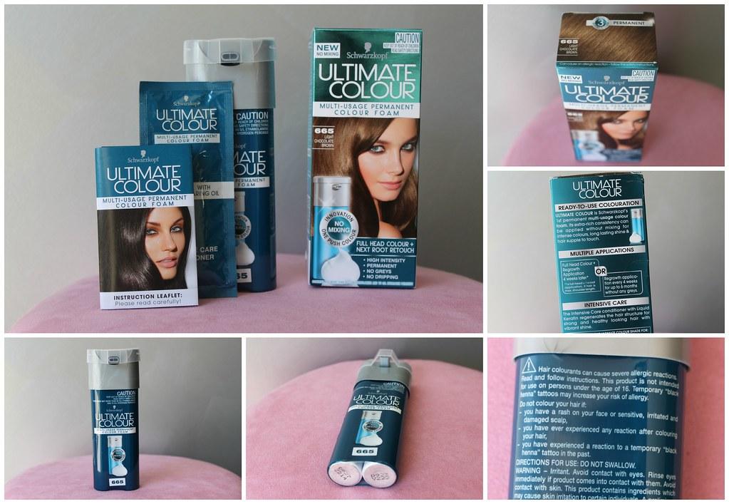 Schwarzkopf ultimate hair colour color mousse permanent au ...