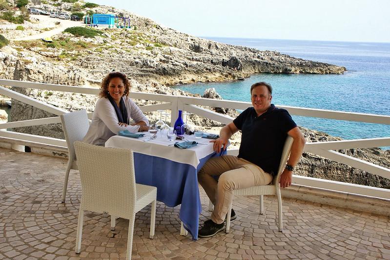 Lunch in Marina di Novaglie, Puglia  www.ciuitaly.com