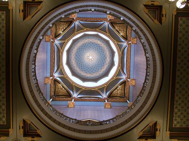 Hartford CT ~ Connecticut State Capitol  ~ Interior Dome