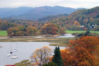 Autumn  Colours  - Near Waterhead, Ambleside - Cumbria - UK