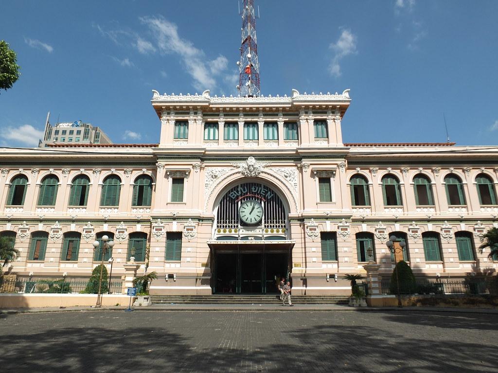 Image result for Bưu điện Trung Tâm Sài Gòn