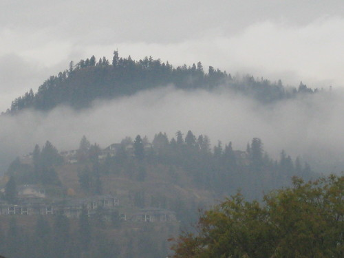 canada fog clouds bc okanagan columbia british kelowna dilworth