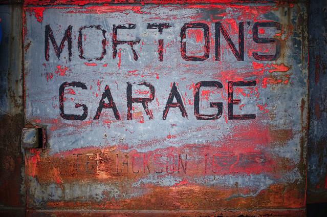 morton's garage