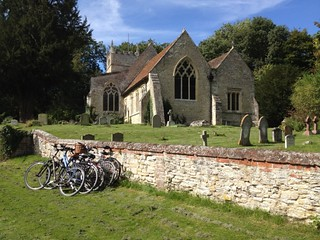 Bicycles outside Church | by The National Churches Trust