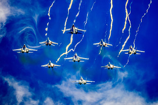 """Russian Knights"" and ""Swifts"" in acid colors - 2 