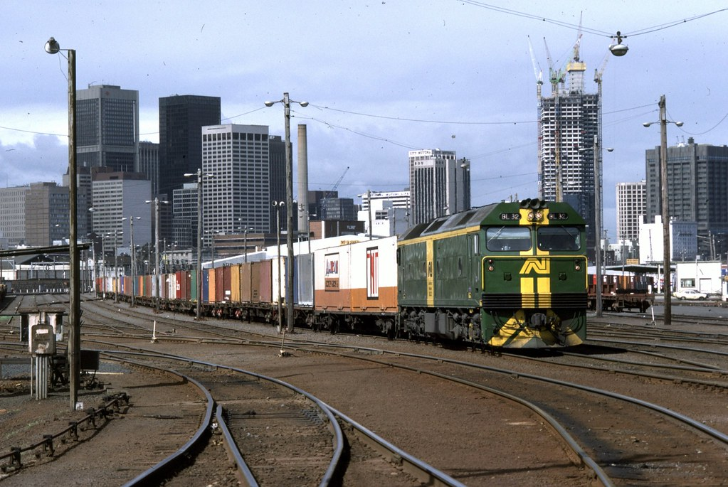 BL32 at Melbourne Yard by Alan Greenhill