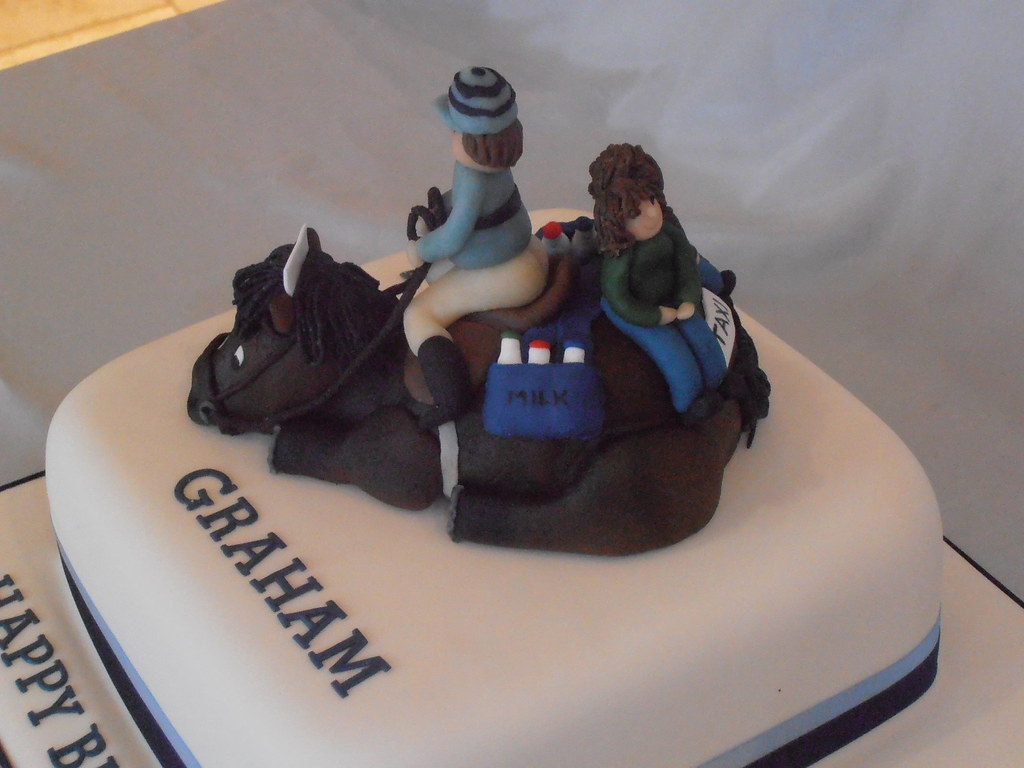 A Race Horse A Cake For A Racing Enthusiast Who Was A Mil Flickr
