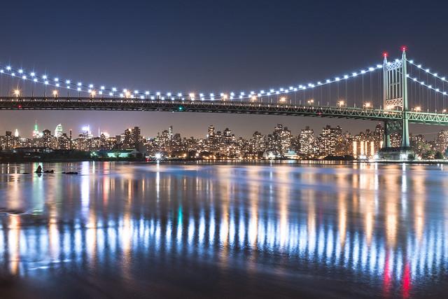 Triboro Bridge & Manhattan Skyline