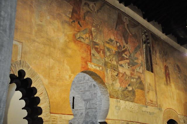 281 - Pinturas Resurrección - Iglesia San Román (Toledo) - Spain.