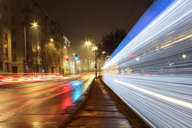 Christmas tram in Budapest 25