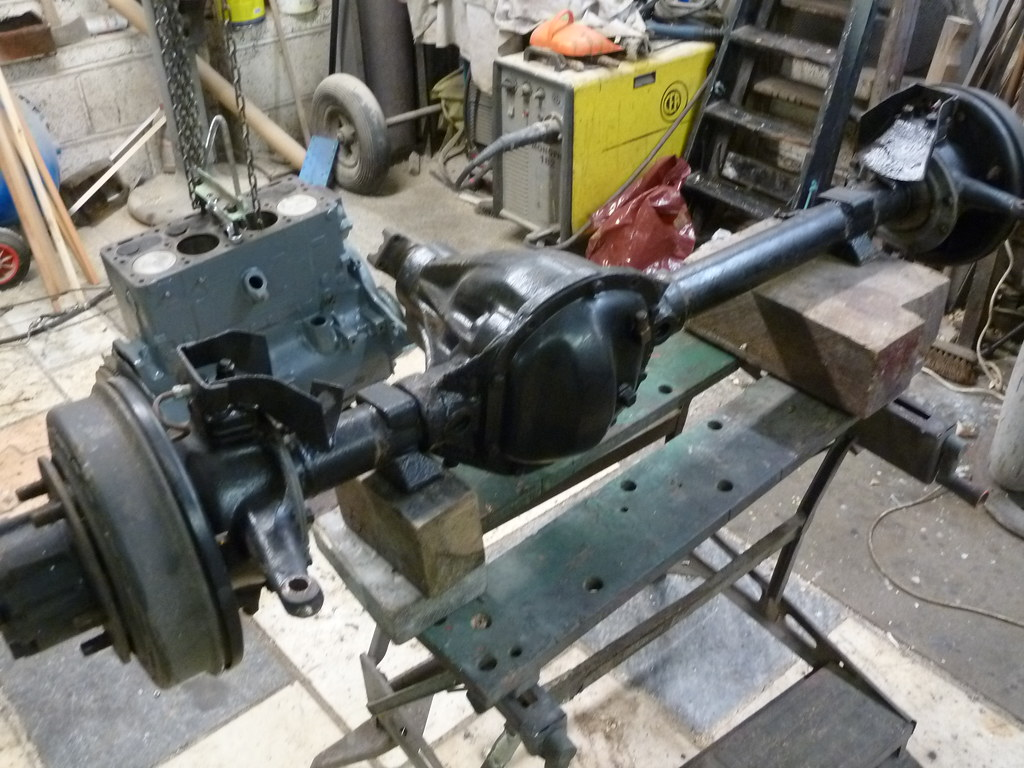 Willys Jeep Front Axle
