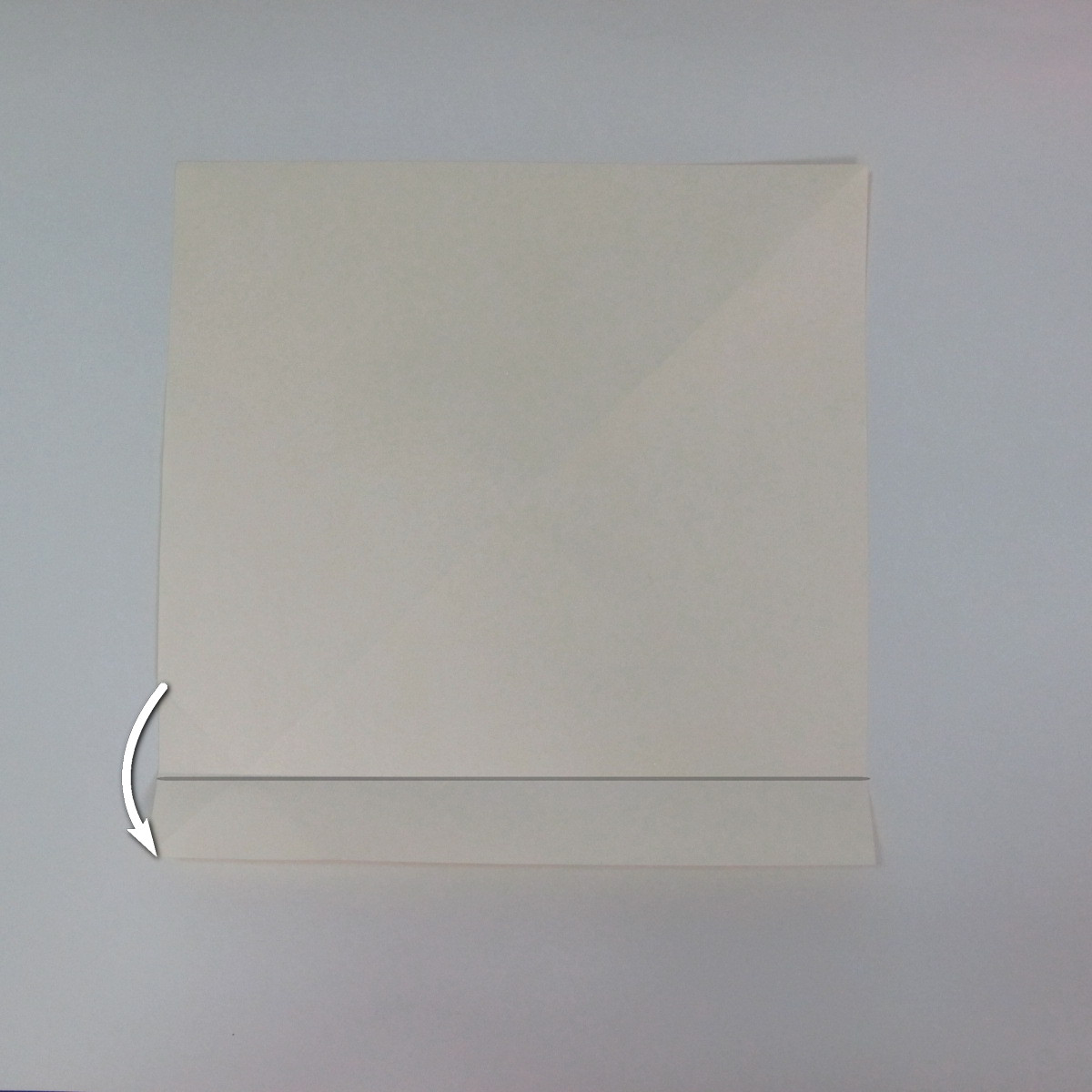 สอนวิธีพับกระดาษเป็นรูปลูกสุนัขยืนสองขา แบบของพอล ฟราสโก้ (Down Boy Dog Origami) 012