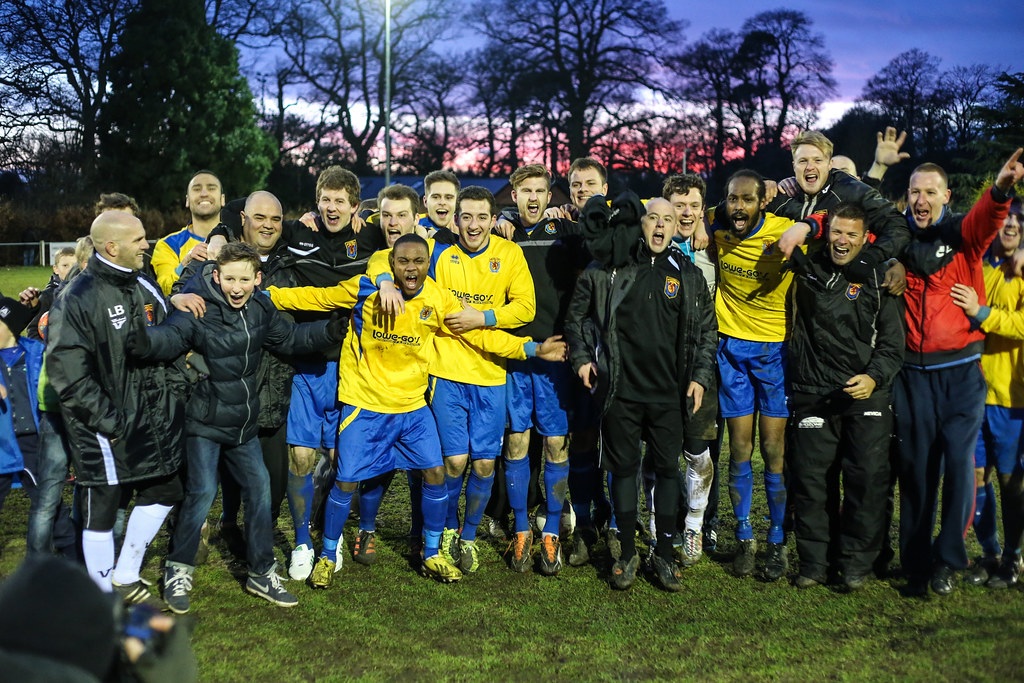 Ampthill Town 3 Hanwell Town 1 ( AET)  FA Vase 5th Round