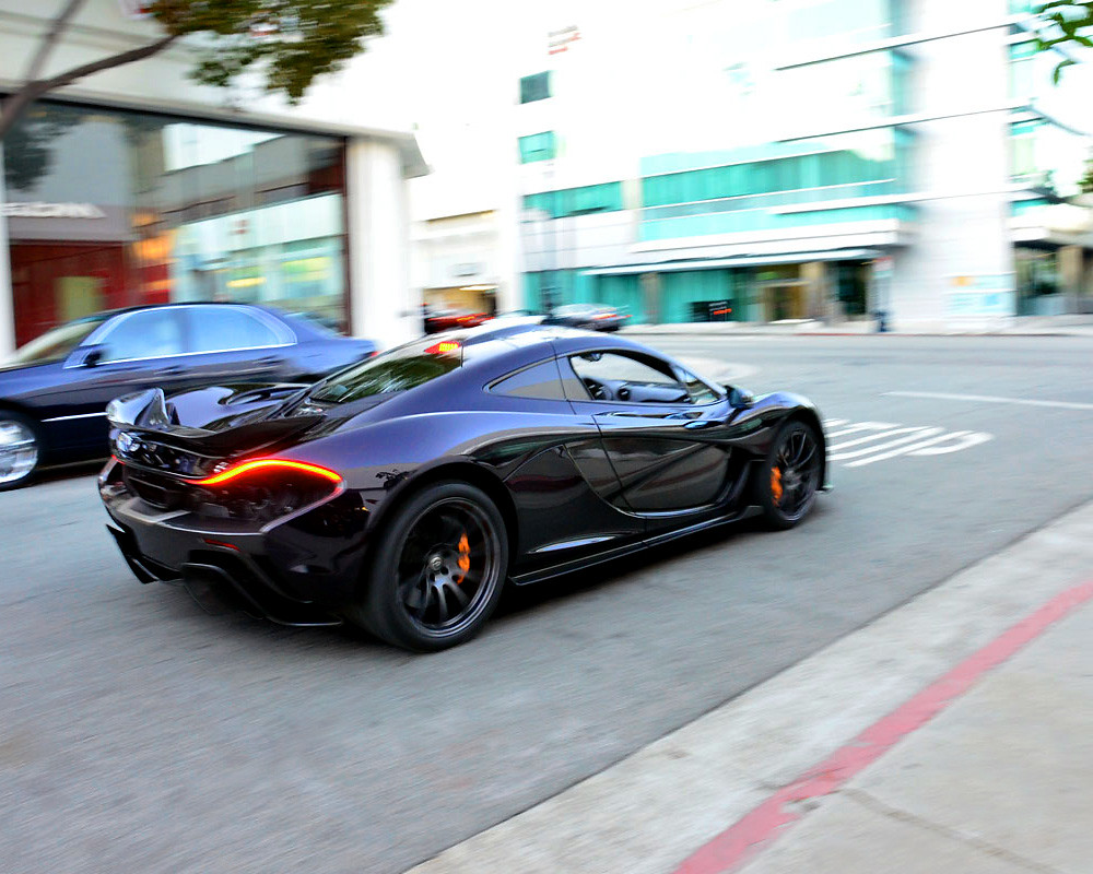 Mclaren Beverly Hills >> Mclaren P1 On The Streets Of Beverly Hills Production Prot