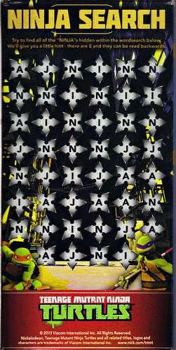 """Kraft Macaroni & Cheese :: """"TEENAGE MUTANT NINJA TURTLES"""" Shapes ; """"RAPHAEL"""" box iii (( 2014 )) by tOkKa"""