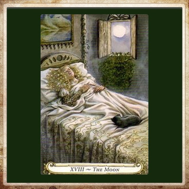 One more night of good sleep before resuming Tarot work to… | Flickr