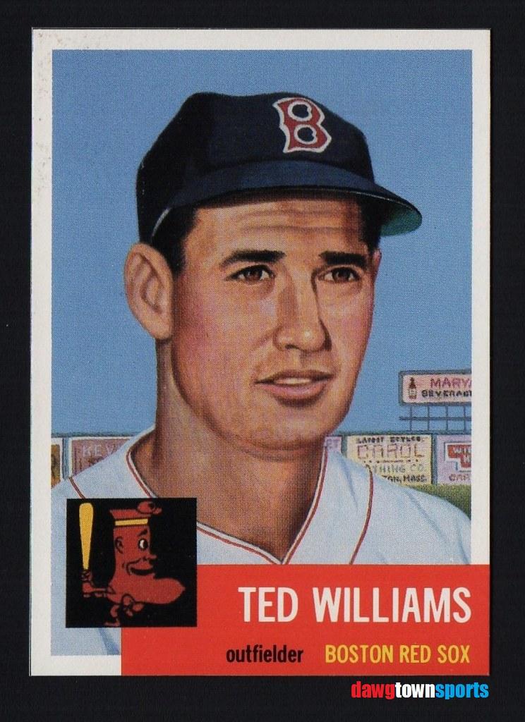 1984 Baseball Cards Magazine 281 Ted Williams 1953 Topps