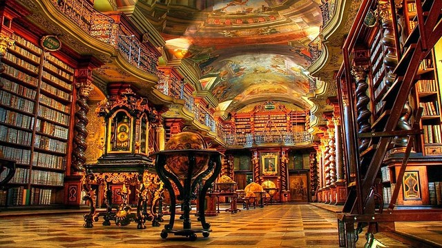 Klementinum National Library, Czech Republic, Beautiful Sanctuary
