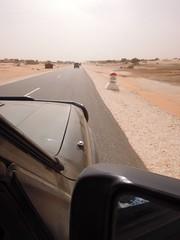 33 km nagelneue Straße nach Keur Macène