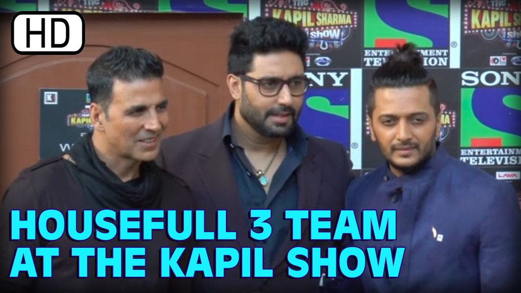 Housefull 3 Cast Promotes Movie At Kapil Sharma Show | Aks… | Flickr
