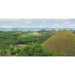 #Chocolate #Hills is not what it used to be. Damaged in the #Bohol earthquake in 2013, it's still a #charming #tourist spot and one of the highlights of the island if you decide to take a bus tour. I'd definitely recommend the motorbike #adventure inste