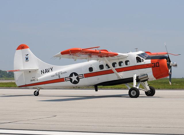 US Navy De Havilland Otter NU-1B 144670 cn 151 USNTPS The oldest active US Navy aircraft delivered Sept 28 1956