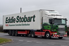 Stobart L7706 PE14 FVZ Katy Rose A5 Rugby Truck Stop 18/3/16