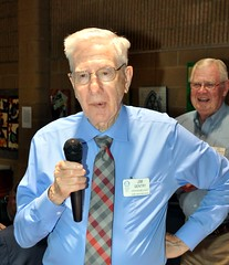 HOW ABOUT THAT!!!! Jim Gentry announced, with a $20 bill, that today was his 86th birthday!