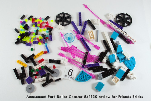 Set Review for Friends Bricks: 41130 Roller Coaster-20 | by fujiia.reviews