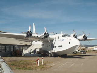 """Short Solent Mk III flying boat. G-AKNP. BOAC, """"City of Cardiff"""", Oakland Aviation Museum, Oakland, CA, 7K views, 3 faves"""