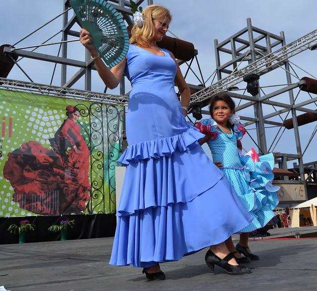 Encarna y su familia Pasarela Andaluza VI Feria Abril 2013 Las Palmas de Gran Canaria  DSC_0236