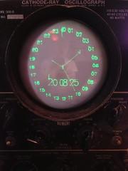 Cathode-ray Oscillograph clock