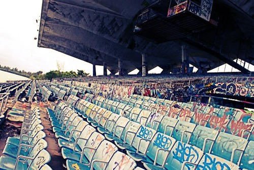 miami marine stadium | years ago, miami marine stadium was