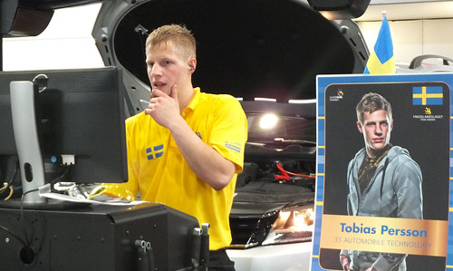 "WorldSkills2013  ""Automobile Technology"" 