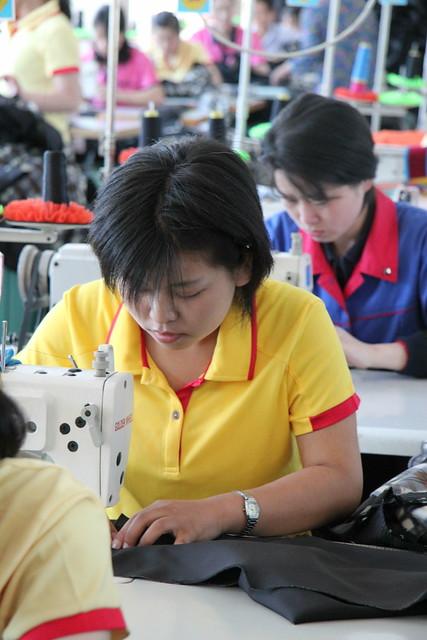 Sonbong Textiles Factory North Korea
