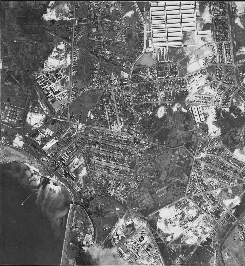 Botany and Bunnerong 1953 - Sydney aerial photo