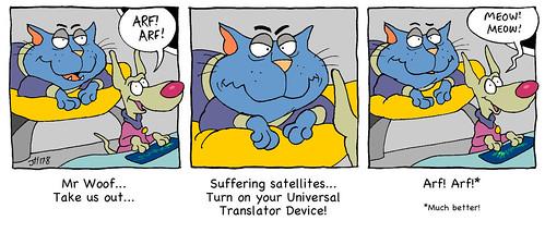 Catnip's Universal Translator   by Catnip Cat by Jeff Hoyle