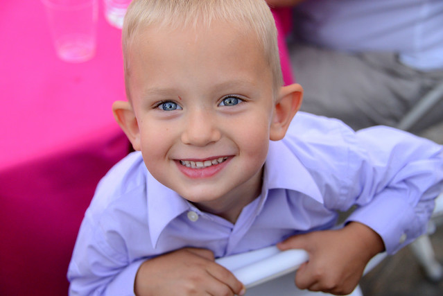 Boy with big smile, Jenn and Rocky Wedding, placerville, california