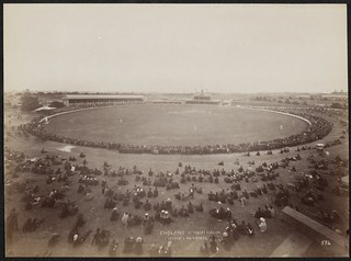 Cricket match between England and Australia, Sydney, New South Wales, 3 February 1892 / Charles Bayliss | by National Library of Australia Commons