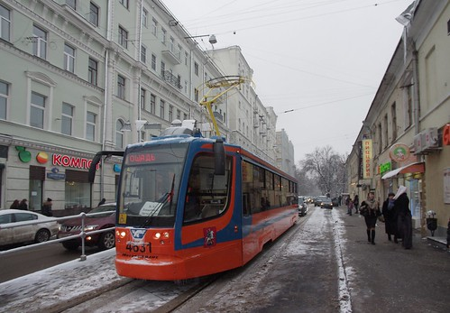 Moscow tram 71-631 4631 line A _20131208_094_ShiftN | by trolleway
