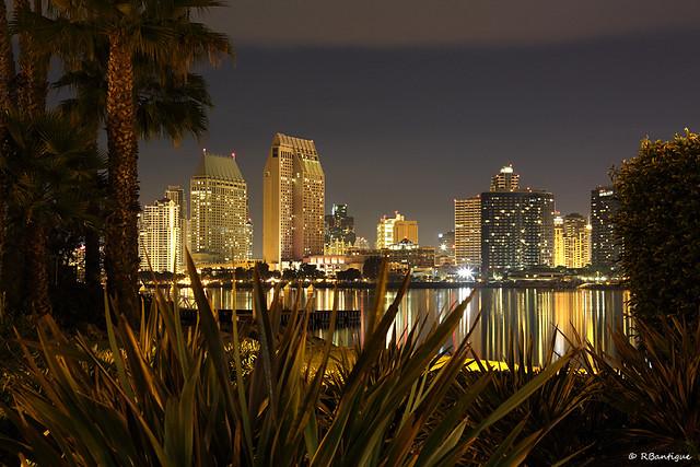 Small view of San Diego skyline