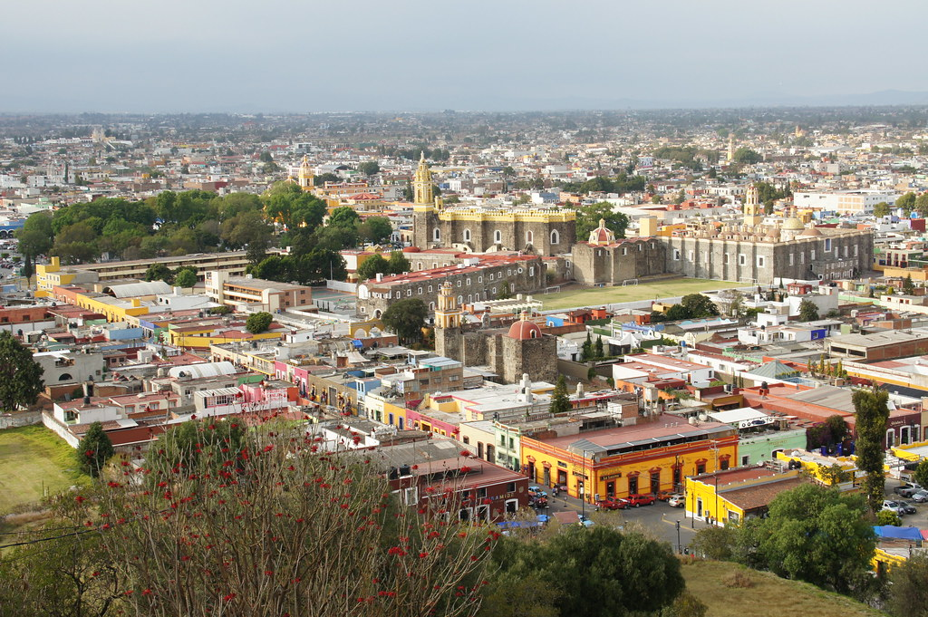 Puebla & Cholula, Mexico, January 2014